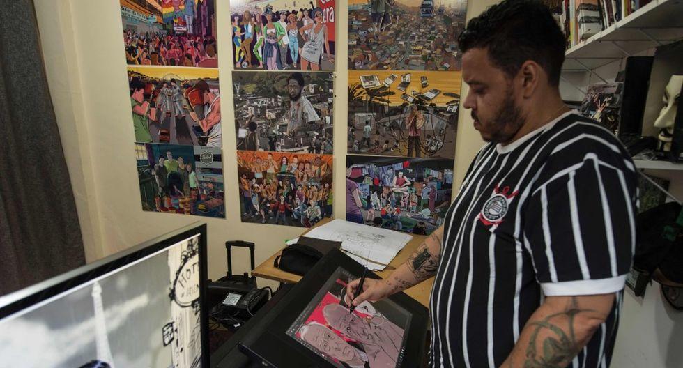 Dibujo y texto, Alexandre de Maio y el periodismo cómic - 5