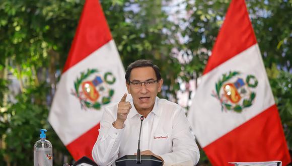 """El presidente Vizcarra advirtió al Congreso """"que el tesoro público no es un barril sin fondo"""". (Foto: Presidencia Perú)"""