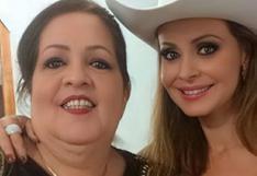 Gabriela Spanic le dedica sentido mensaje a su mamá tras su fallecimiento