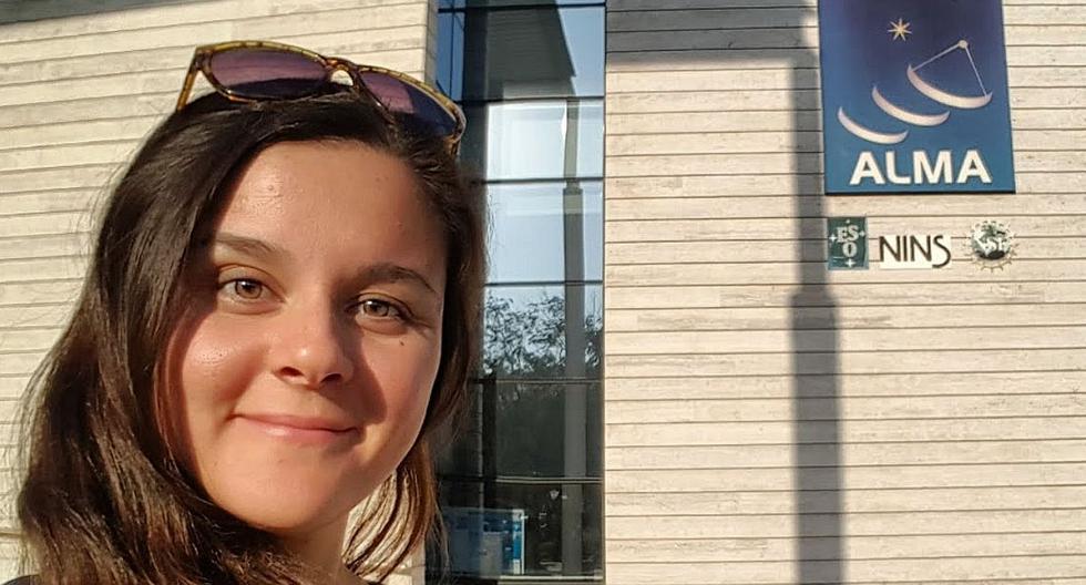La astrofísica Carla Arce Tord quiere derrumbar el prejuicio que se tiene del científico, como una persona de bata blanca mirando por un microscopio. (Archivo personal)
