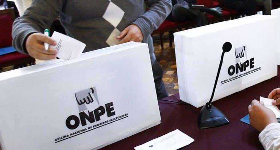 Lambayeque: ONPE aclaró presunta entrega de cédulas marcadas