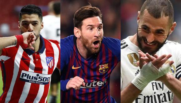 LaLiga Santander: ¿Cómo va la lucha por el Pichichi? Messi y Suárez lideran la tabla de goleadores.