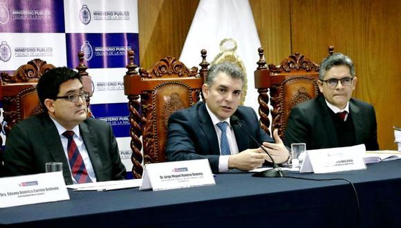 Fiscales del Equipo Especial confirmaron que acuerdo con Odebrecht fue validado por el Poder Judicial (Foto: Ministerio Público)