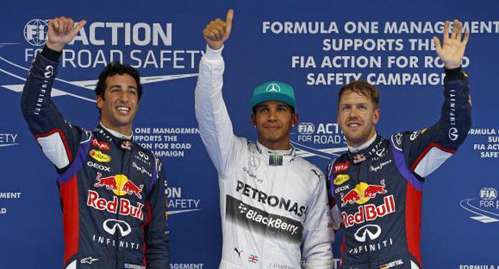 Lewis Hamilton saldrá primero en China. (Foto: Dppi)