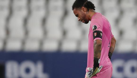 Gallese fue titular esta noche con la selección peruana en Recife. (Foto: Reuters)