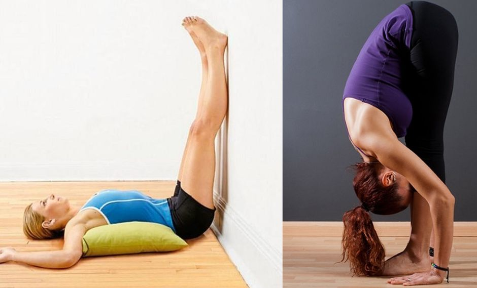 Cuatro posturas de yoga para aliviar el dolor de espalda.