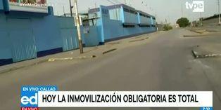 Coronavirus en Perú: así lucen las calles del Callao en restricción de transito total