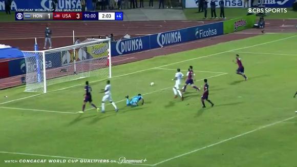 Lletget's 4-1 goal in Honduras against the United States