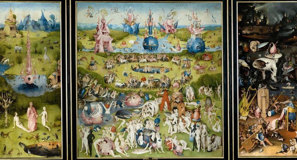 """""""El jardín de las delicias"""" contiene muchos simbolismos, los cuales han sido estudiados a profundidad. (Foto: Wikipedia)"""