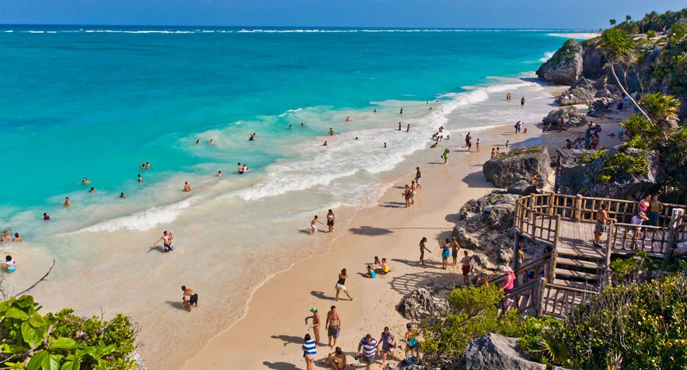 En cuarto puesto se encuentra la Rivera Maya, México. El destino turístico fue visitado en el 2017, principalmente, por personas de EE.UU., Canadá y Reino Unido. La duración promedio de la visita es de 7 días, mientras que el gasto promedio ascendió a US$157.