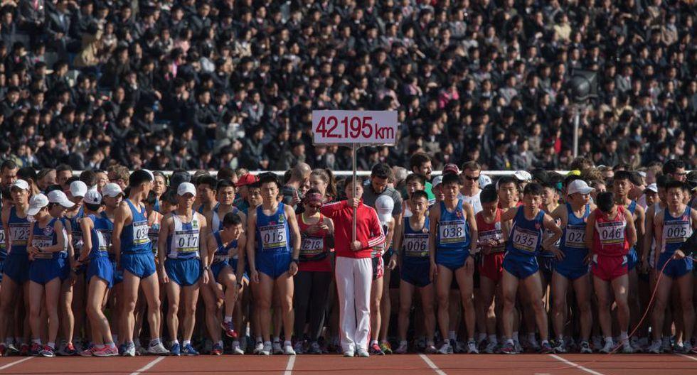 La maratón de Corea del Norte, una experiencia única [FOTOS] - 1