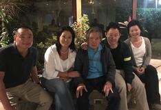 """Alberto Fujimori asegura que el fujimorismo está """"otra vez unido"""""""
