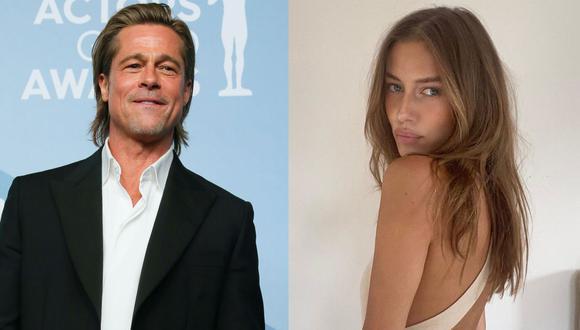 Brad Pitt estaría saliendo con la modelo alemana Nicole Poturalski. (Foto: AFP/@nico.potur)