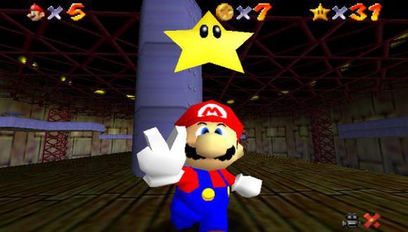 Un joven termina Super Mario 64 en menos de dos horas