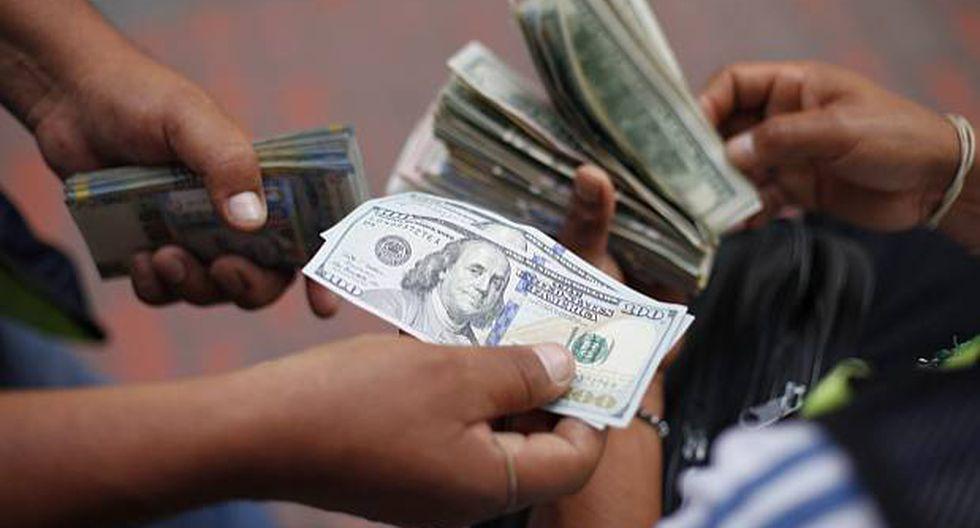 El tipo de cambio interbancario sube a 3,345 soles por dólar