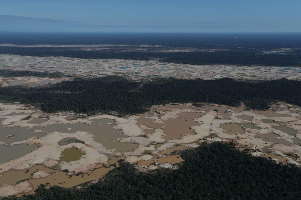 La Pampa Madre de Dios Minería Ilegal