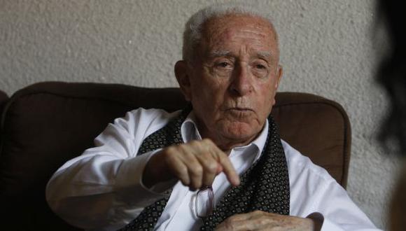 Arturo Salazar Larraín, destacado periodista fallecido este viernes a los 94 años. (Foto: El Comercio)