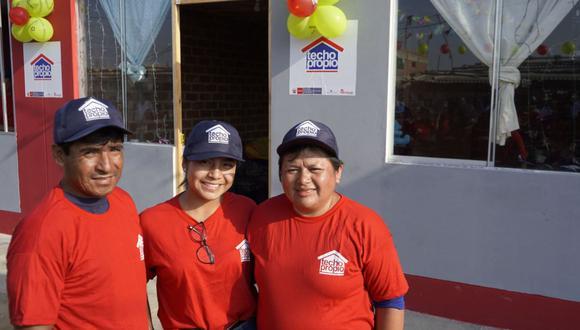 El Bono Familiar Habitacional es el principal beneficio del programa Techo Propio.(Foto: Andina)