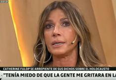 Catherine Fulop entre lágrimas pide disculpas por comparar a judíos con venezolanos | VIDEO