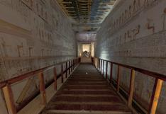 #QuédateEnCasa: visita las tumbas de los faraones egipcios haciendo clic