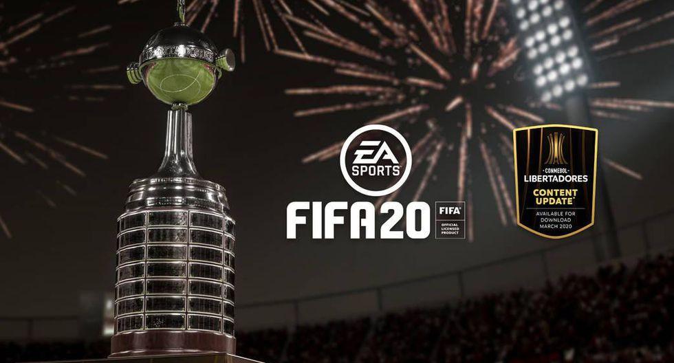FIFA 20 recibirá a la Copa Libertadores este martes 3 de marzo. (Difusión)