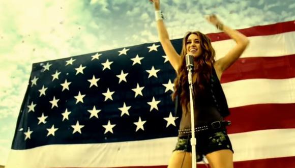 Miley Cyrus manifestó su alegría porque los ciudadanos escojan su canción para celebrar la victoria de Joe Biden. (Foto: Instagram / @joebiden / Captura de YouTube).