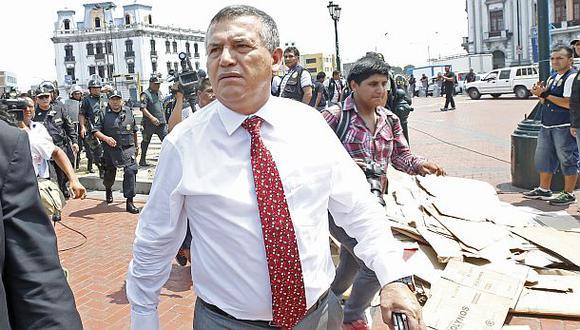 Urresti: policía no permitirá el ingreso al triángulo terrestre