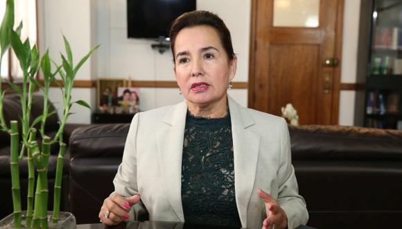 La jueza suprema, Elvia Barrios, considera que el Poder Judicial está respondiendo a las expectativas de la sociedad . (Corte Suprema)