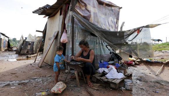 Las peores inundaciones en Paraguay dejan 140.000 damnificados