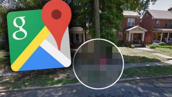 Google Maps capturó una curiosa escena en una calle de USA que llamó la atención de miles de usuarios de la app | Foto: Google Maps