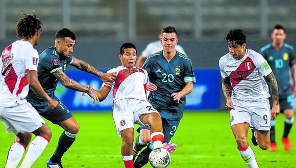 Perú cayó ante Brasil y Argentina el año pasado por Eliminatorias. (Foto: GEC)