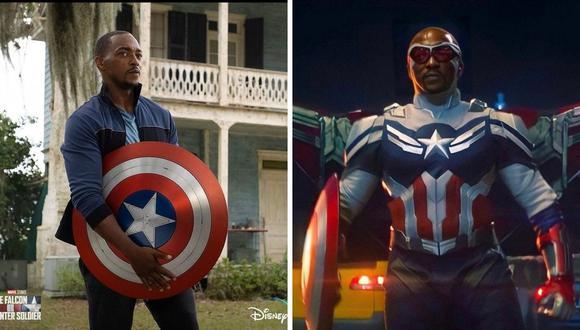 "Disney+ estrenó póster de Sam Wilson reafirmando que es el ""Capitán América"". (Foto: @disneyplus / Marvel Studios)"