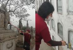 Convocan a voluntarios para limpiar el cementerioPresbítero Maestro