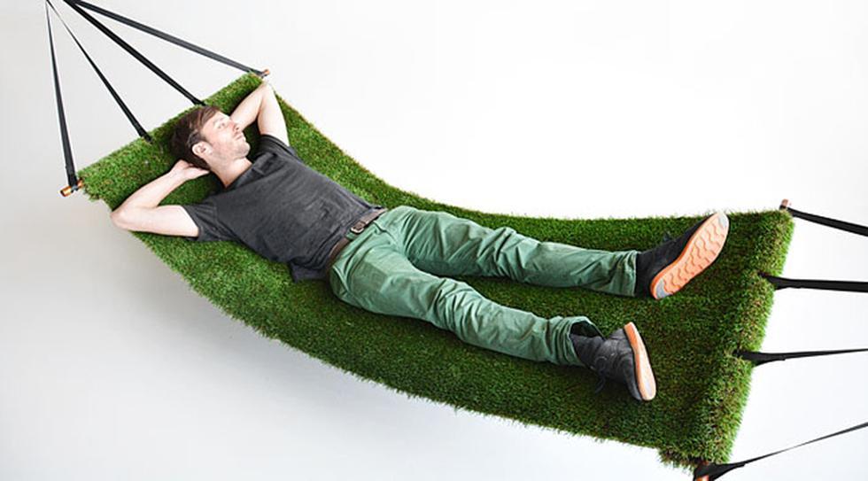 """Esta """"hamaca de pasto"""" llevará la naturaleza a cualquier casa - 1"""