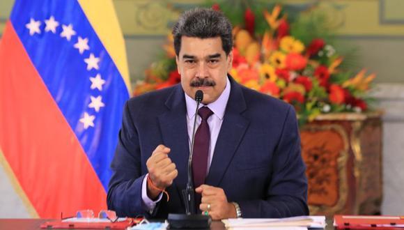 Nicolás Maduro no detalló cuál de estas vacunas es la que llegará a Venezuela, si bien mostró sus esperanzas de que haya una en el mercado para el segundo trimestre de 2021. (Foto: EFE/Prensa Miraflores).