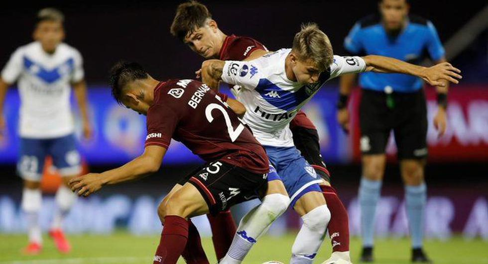 Lanús vs. Vélez Sarsfield (Twitter)