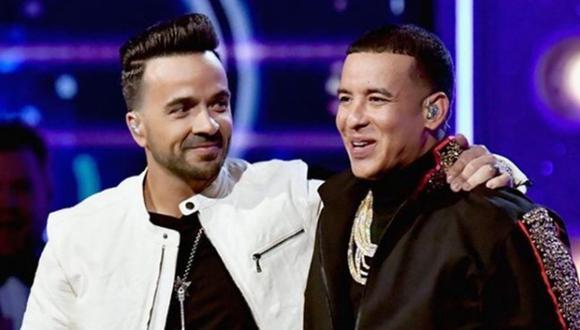 """Los cantantes se mostraban muy unidos tras el lanzamiento de """"Despacito"""". (Foto: Luis Fonsi / Instagram)"""