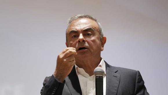 El exjefe de Renault-Nissan Carlos Ghosn huyó de japón hacia Líbano en diciembre 2019 antes de su juicio por malversación financiera. (Foto: ANWAR AMRO / AFP)
