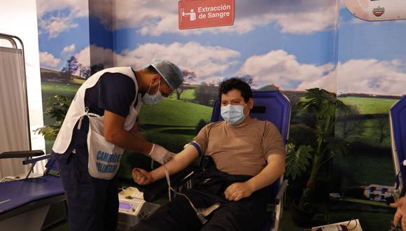 EsSalud logró reunir 4787 unidades de sangre gracias al compromiso de donantes  (Foto: EsSalud)