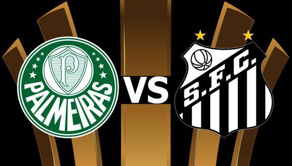 Final de LIbertadores, Palmeiras vs Santos en directo online vía ESPN. Conoce aquí cómo y dónde ver el partido de fútbol en vivo por aplicación móvil. (Foto: Composición)