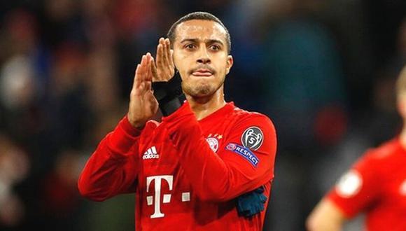 """Thiago sobre su supuesto fichaje por el Liverpool: """"No he dicho en ningún momento que me voy del Bayern"""""""