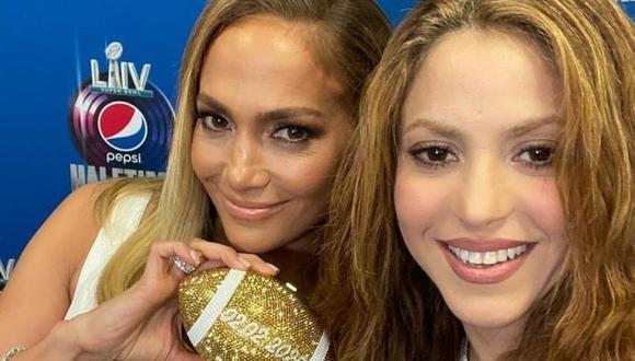 Jennifer Lopez y Shakira  (Foto: Instagram)