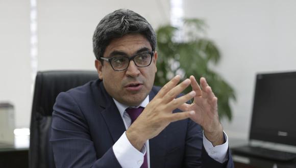 El ministro de Educación, Martín Benavides, se refirió a los temas que competen a su sector. (Foto: Piko Tamashiro)