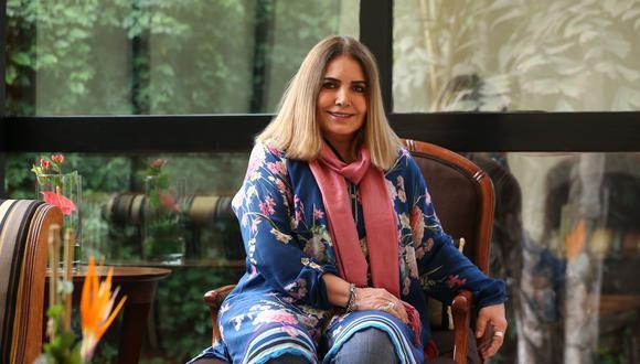 """Tania Libertad desmintió los rumores de su presunta muerte: """"Esto viva y muy bien"""". (FOTO: GEC/Manuel Melgar)"""