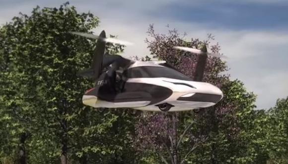 El fabricante se uniría a varias empresas que trabajan en diseños de autos voladores. (Foto referencial: captura)