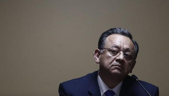 Edgar Alarcón, ex contralor general de la República, fue removido del cargo por la Comisión Permanente del Congreso. (Archivo El Comercio)