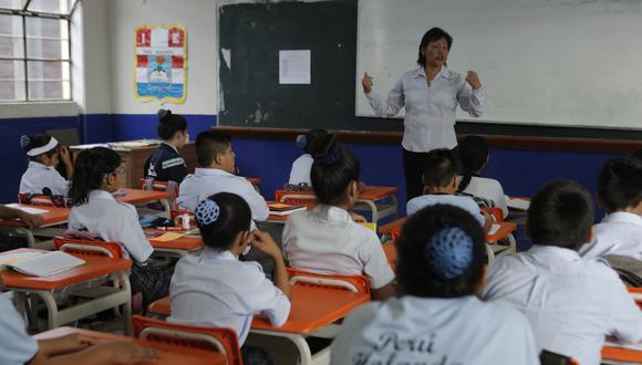 El ministro de Educación señaló que han recibido 125 mil solicitudes de traslado. (Foto: GEC)