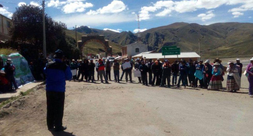 Arequipa: vecinos protestan contra proyecto Majes Siguas II