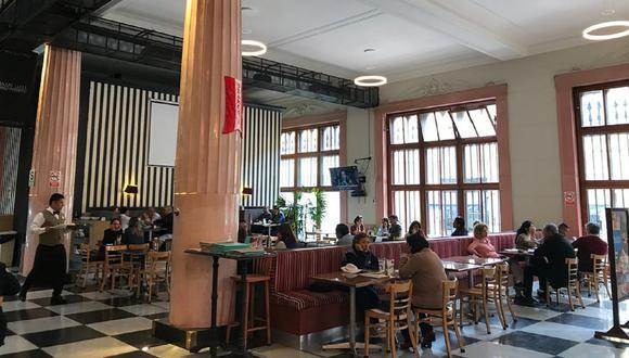 Así lucía el restaurante Damero Café, ubicado en el Centro de Lima, antes de la pandemia. (Foto: TripAdvisor)