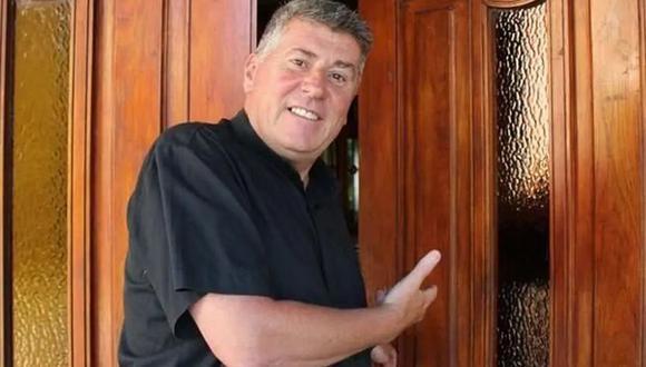 El sacerdote Eduardo Lorenzo, de 59 años, fue hallado tendido en el suelo de la habitación ubicada en la sede de Cáritas en La Plata. La primera causa en su contra se presentó en el 2008, cuando un expolicía denunció la violación de su ahijado. (La Nación / GDA)